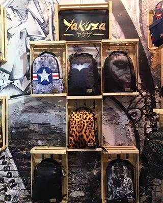 Yakuza Wall